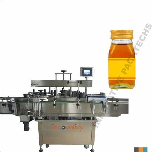 Automatic Honey Bottle sticker Labeling Machine