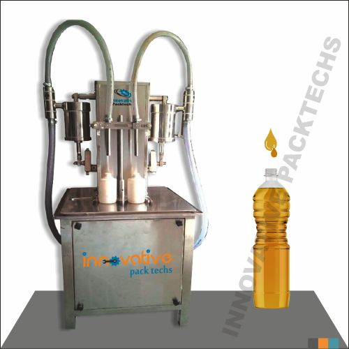 Semi-automatic Oil Filling Machine