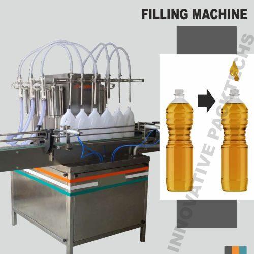 Automatic Six Head Oil Filling Machine