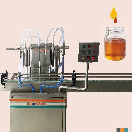 Automatic Four Head Honey Filling Machine