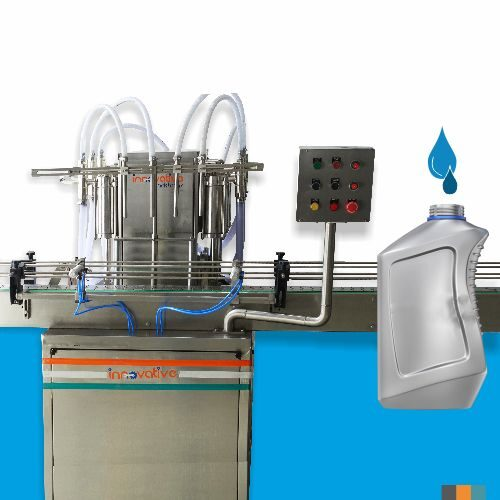 Automatic Four Head Lubricant Oil Filling Machine
