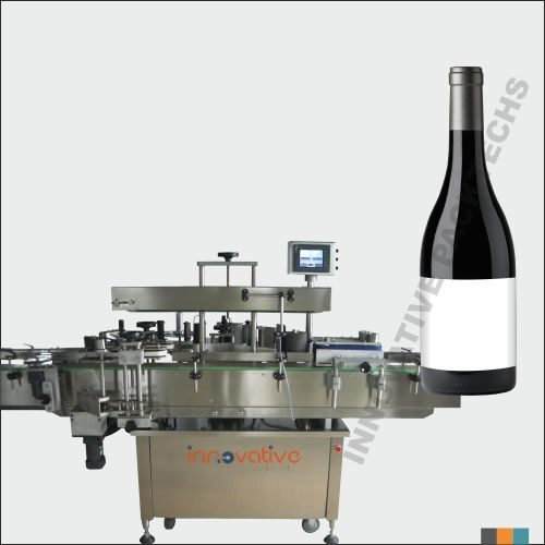 Automatic Wine Bottle Sticker Labeling Machine