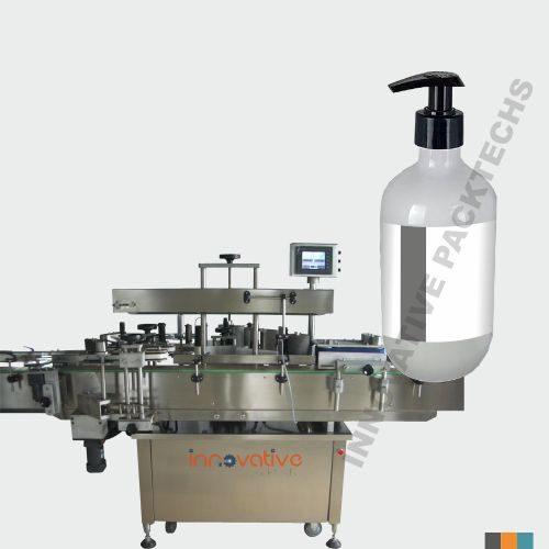 automatic Handwash Bottle sticker Labeling Machine