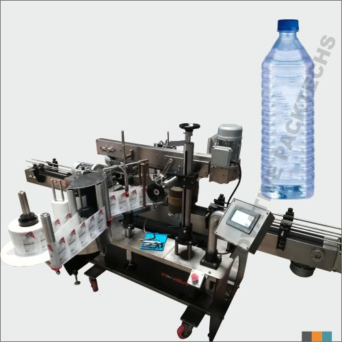 Automatic Square Water bottle Sticker Labeling Machine