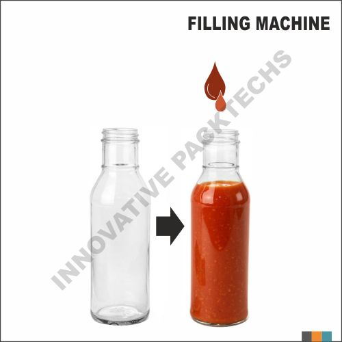 Automatic Four head Ketchup Filling machine