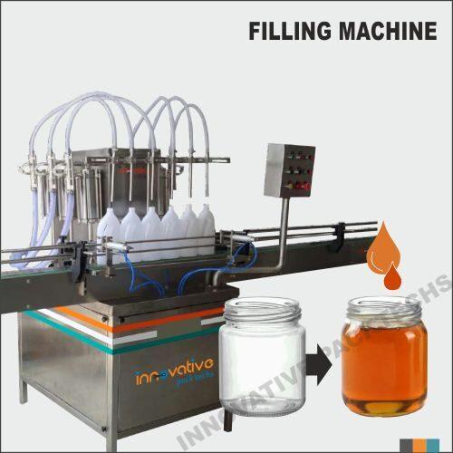 Automatic Six Head Honey Filling Machine