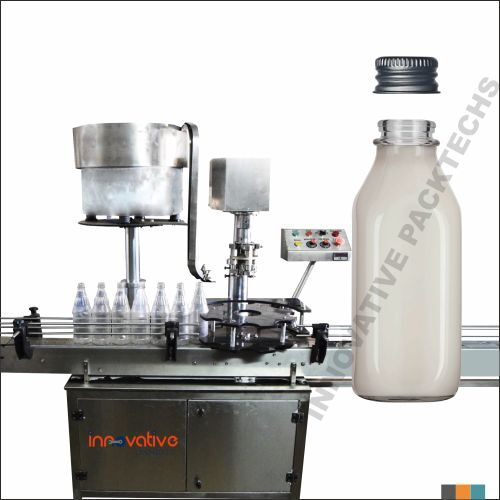 Automatic Milk Bottle Ropp Capping Machine