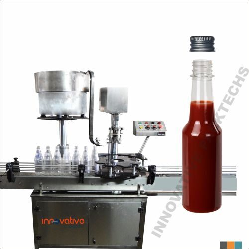 Automatic sauce Bottle Ropp Capping machine