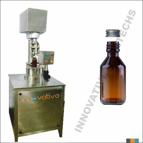 Semi-automatic syrup Bottle Ropp Capping machine