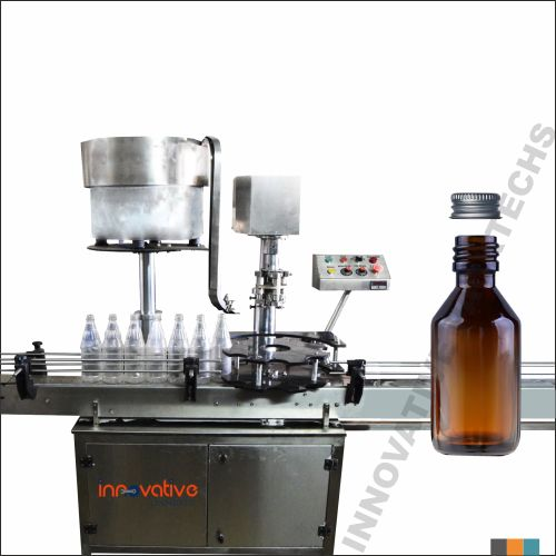 Automatic Syrup Bottle Ropp Capping Machine