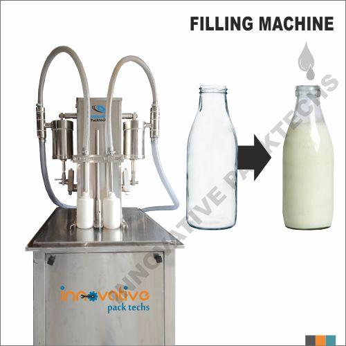 Semi automatic Milk filling machine